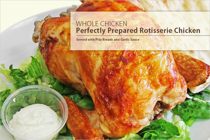 Perfectly Prepared Rotisserie Chicken